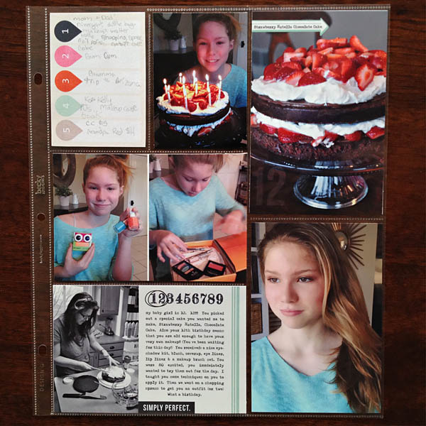 Project Life pages by kristasahlin using Worth a Thousand Words by Sahlin Studio