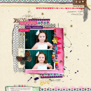 digital scrapbooking layout created by Jenn Barrette featuring Aztec Summer by Sahlin Studio