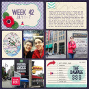 project life layout created by mishou featuring Aztec Summer by Sahlin Studio