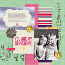 digital scrapbooking layout created by Teresa featuring Aztec Summer by Sahlin Studio