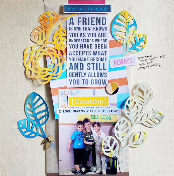 Hybrid Layout by Rossana using Life Is Better With You Mini Kit by Sahlin Studio