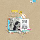 Digital Scrapbook Layout by margelz using Life Is Better With You Mini Kit by Sahlin Studio