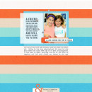 Digital Scrapbook Layout by rlma using Life Is Better With You Mini Kit by Sahlin Studio