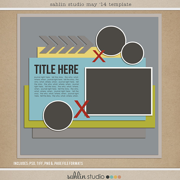 free digital scrapbooking template may 2014 sahlin studio