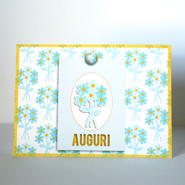 card by Cristina using Drift Away by Sahlin Studio
