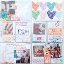 Project Life / Mixed Media page by heathergw using Drift Away Kit by Sahlin Studio