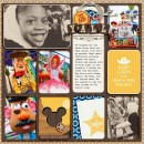 """Disney Parade with Toy Story Woody digital Project Life page by TiffanyTillman featuring """"Project Mouse: Frontier"""" by Britt-ish Designs and Sahlin Studio"""