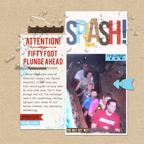 "Disney Splash Mountain digital page by ctmm4 featuring ""Project Mouse: Frontier"" by Britt-ish Designs and Sahlin Studio"