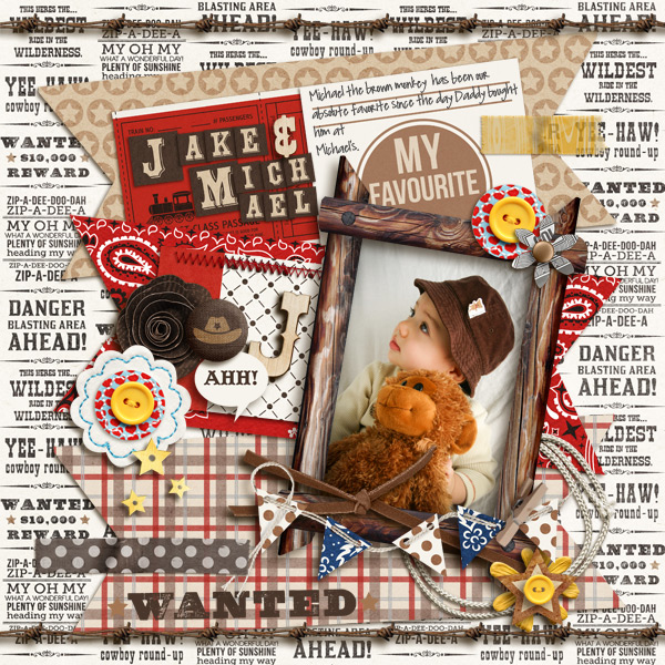 "Favorite Monkey Digital page by mikinenn featuring ""Project Mouse: Frontier"" by Britt-ish Designs and Sahlin Studio"