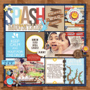 """Disney Splash Mountain Project Life page by raquels featuring """"Project Mouse: Frontier"""" by Britt-ish Designs and Sahlin Studio"""