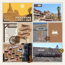 """Disney Frontierland Digital Project Life page by sucali featuring """"Project Mouse: Frontier"""" by Britt-ish Designs and Sahlin Studio"""