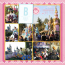 Disney Parade Digital Project Life Double Page (left) by justine featuring Project Mouse Alphabet Cards by Britt-ish Designs and Sahlin Studio