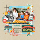 Captured digital scrapbook page by cindys732003 featuring Flashback by Sahlin Studio