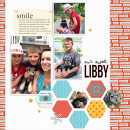 Our Sweet Libby digital scrapbook page by ctmm4 featuring Flashback by Sahlin Studio