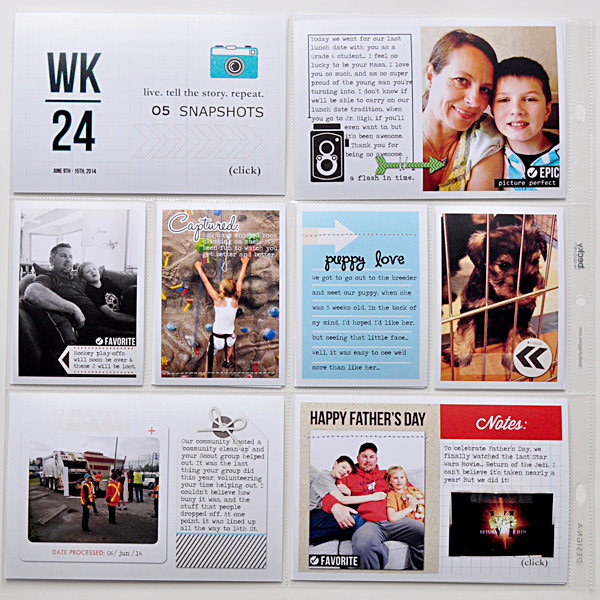 Project Life Layout by ctmm4 featuring Flashback by Sahlin Studio
