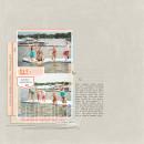 Hello Summer Digital scrapbook page by kristasahlin featuring Hello Sun by Sahlin Studio