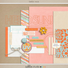 Hello Sun by Sahlin Studio