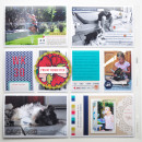 Hybrid Pocket Scrapbooking Layout by ctmm4 featuring Documentary by Sahlin Studio