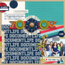 Labor Day 2014 digital scrapbook layout by raquels featuring Documentary by Sahlin Studio