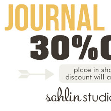 Journal Cards by Sahlin Studio
