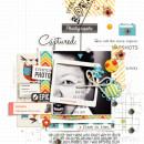 Captured digital scrapbook page by misslovescraps featuring Flashback by Sahlin Studio