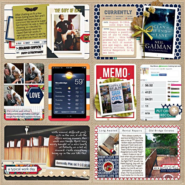 Digital Project Life Layout by breeoxd featuring Documentary by Sahlin Studio