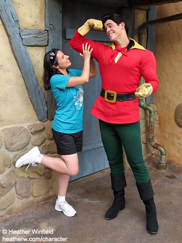 Gaston pose