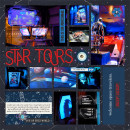 Disney Star Tours Star Wars digital scrapbook page by Quilty Mom featuring Project Mouse (Tomorrow) by Britt-ish Designs and Sahlin Studio