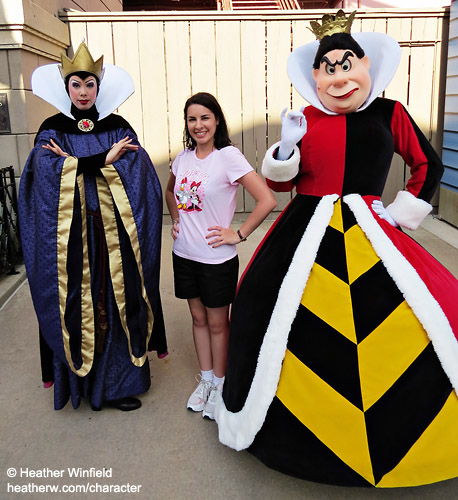 Queen of Hearts & Evil Queen