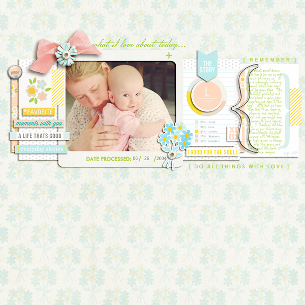Notes digital scrapbook layout by pne123 featuring We Are Storytellers Word Art by Sahlin Studio