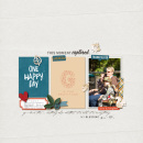 One Happy Day digital scrapbooking page by One Happy Day featuring Gather and MPM Add-Ons by Sahlin Studio