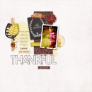Thankful digital scrapbook page by sucali featuring Memory Pocket Monthly Subscription November and MPM Add-Ons by Sahlin Studio