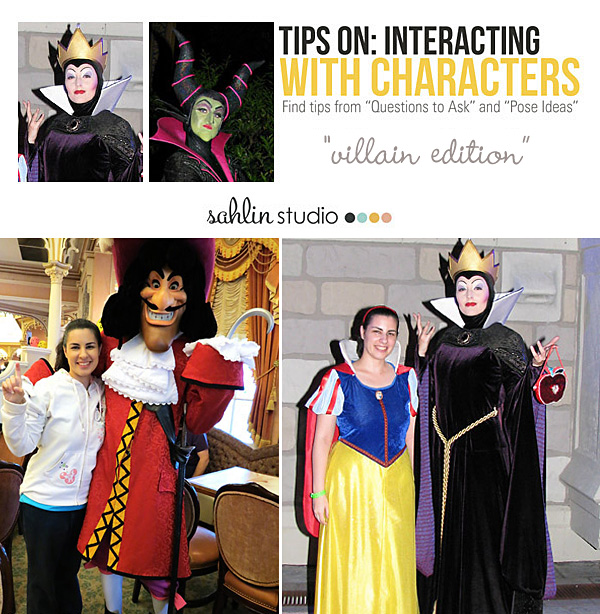 Disney Character Interaction Tips & Ideas: Villains