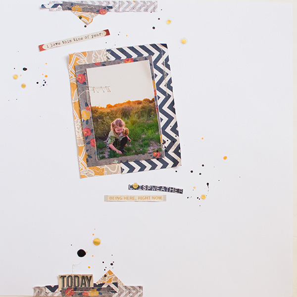 hybrid scrapbook layout created by 3littleks featuring autumn frost by sahlin studio