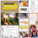 Currents Right Now - Watching, Listening, Loving Project Life page by AnaPaula using Currently (Journal Cards) by Sahlin Studio. Perfect for using in your Project Life album!