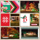 Holiday Favorites digital pocket scrapbooking page by aballen featuring making spirits bright: (collection) by sahlin studio
