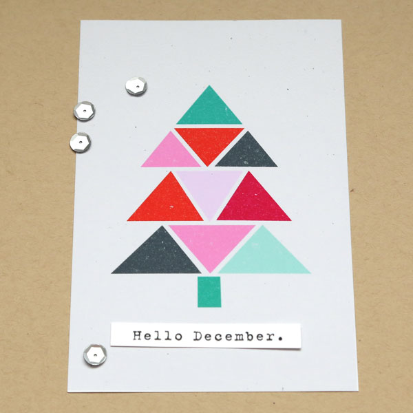 Christmas Holiday cards by Cristina using Memory Pocket Monthly Subscription   Joy Perfect for using in your Project Life or December Daily album!