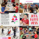 Christmas Holiday Party Project Life page by kristasahlin featuring memory pocket monthy (joy) at the lilypad