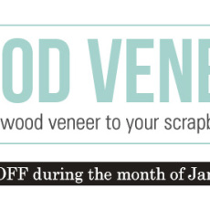Digital Wood Veneer - January Featured Product by Sahlin Studio