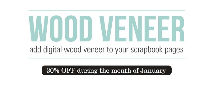 Digital Wood Veneer - January Featured Product by Sahlin Studio