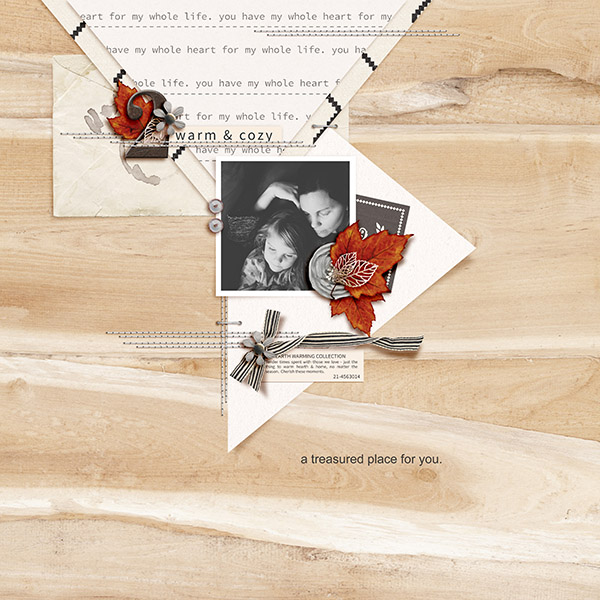 A Treasured Place For You by 3littleks featuring Chesterfield Kit by Sahlin Studio
