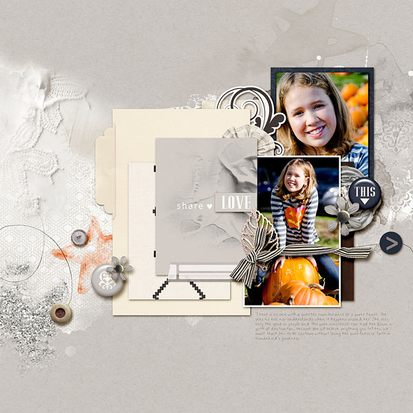 Love This digital scrapbook page by AmberR featuring Chesterfield Kit by Sahlin Studio