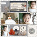 Share The Love digital pocket scrapbooking page by mikinenn featuring Chesterfield Kit by Sahlin Studio