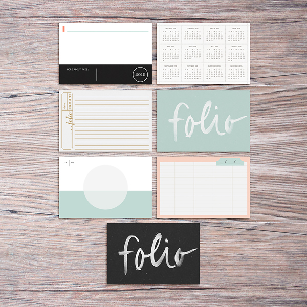 Memory Pockets Monthly: FOLIO by The LilyPad Designers & Sahlin Studio