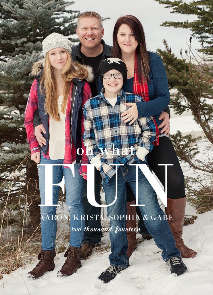 Sahlin family - 2014