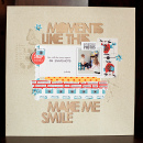 Moments Like This digital scrapbook page by gracielou featuring Moments Templates by Amy Martin and Sahlin Studio