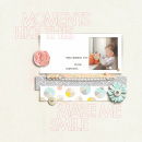 Moments Like This digital scrapbook page by sucali featuring Moments Templates by Amy Martin and Sahlin Studio