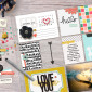 Memory Pockets Monthly: HELLO by The LilyPad Designers & Sahlin Studio - Perfect for your Project Life albums!