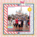 princess digital scrapbook layout created by neeceebee featuring Project Mouse (Princess Edition) by Sahlin Studio and Britt-ish Designs