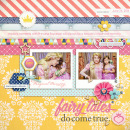 princess digital scrapbook layout created by raquels featuring Project Mouse (Princess Edition) by Sahlin Studio and Britt-ish Designs